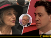 "Actress who said ""Corbyn made me a Tory"" over anti-Semitism made almost identical claims against Ed Miliband for supporting Palestine in 2014"