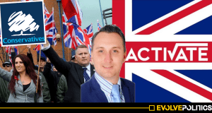 Tory Youth Group Chairman praises Fascists Britain First and Tommy Robinson at Activate Launch Event