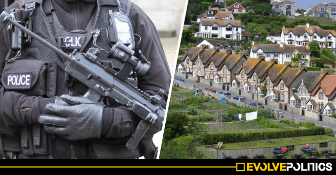 Police in rural areas like Devon and Cornwall could soon be allowed to routinely carry guns
