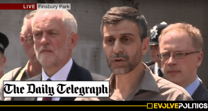 Daily Telegraph pays out 'substantial' damages after lying about Mosque Leader to smear Jeremy Corbyn