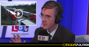 WATCH: 'Disingenuous' Jacob Rees-Mogg gets utterly schooled AGAIN by clued-up caller on Brexit border checks [VIDEO]