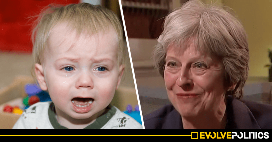 New research shows UK Child Poverty has skyrocketed to 33.4% of ALL children - the Tories should be truly ashamed