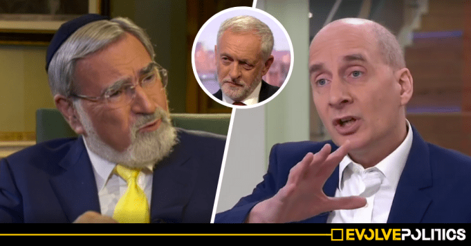 Establishment Fury as Anti-Corbyn Labour Peer labels Lord Sacks a 'voice for extremism' over Enoch Powell-Corbyn comparison