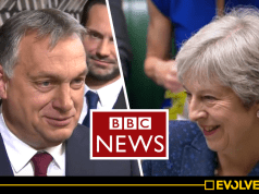 BBC silent as Theresa May's Tories vote to support unashamedly antisemitic far-right Hungarian political party