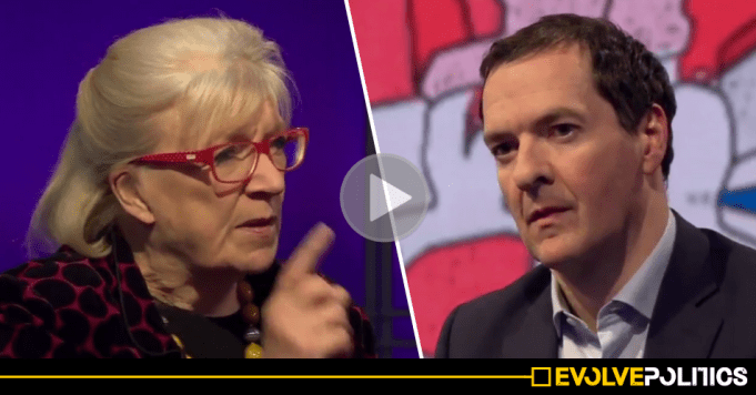 WATCH: George Osborne's face turns from smug to despair as his political legacy gets ripped to shreds before his very eyes [VIDEO]