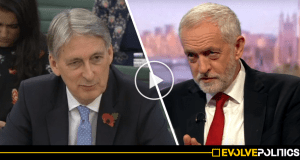 WATCH: Chancellor Phillip Hammond admits that 8 years of Tory cuts have been a TOTAL CON JOB [VIDEO]