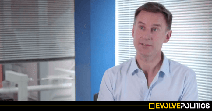 Privately educated multi-millionaire Jeremy Hunt claims he suffered