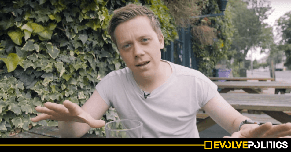 Owen Jones 'kicked in head' in London street attack