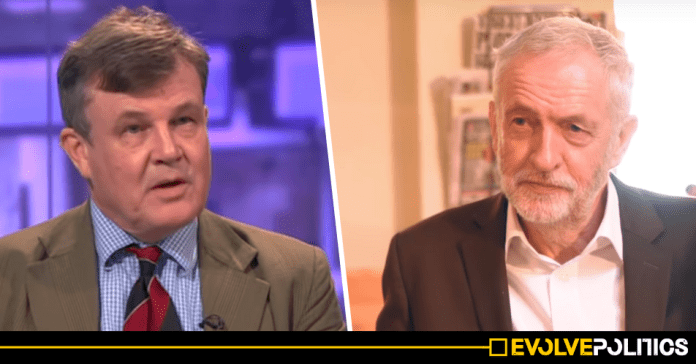 Lifelong Tory Brexiteer Peter Oborne announces he will vote for Jeremy Corbyn