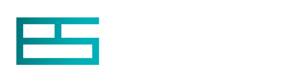teal Gradient Evolve Stone logo and text in white reading Evolve Stone