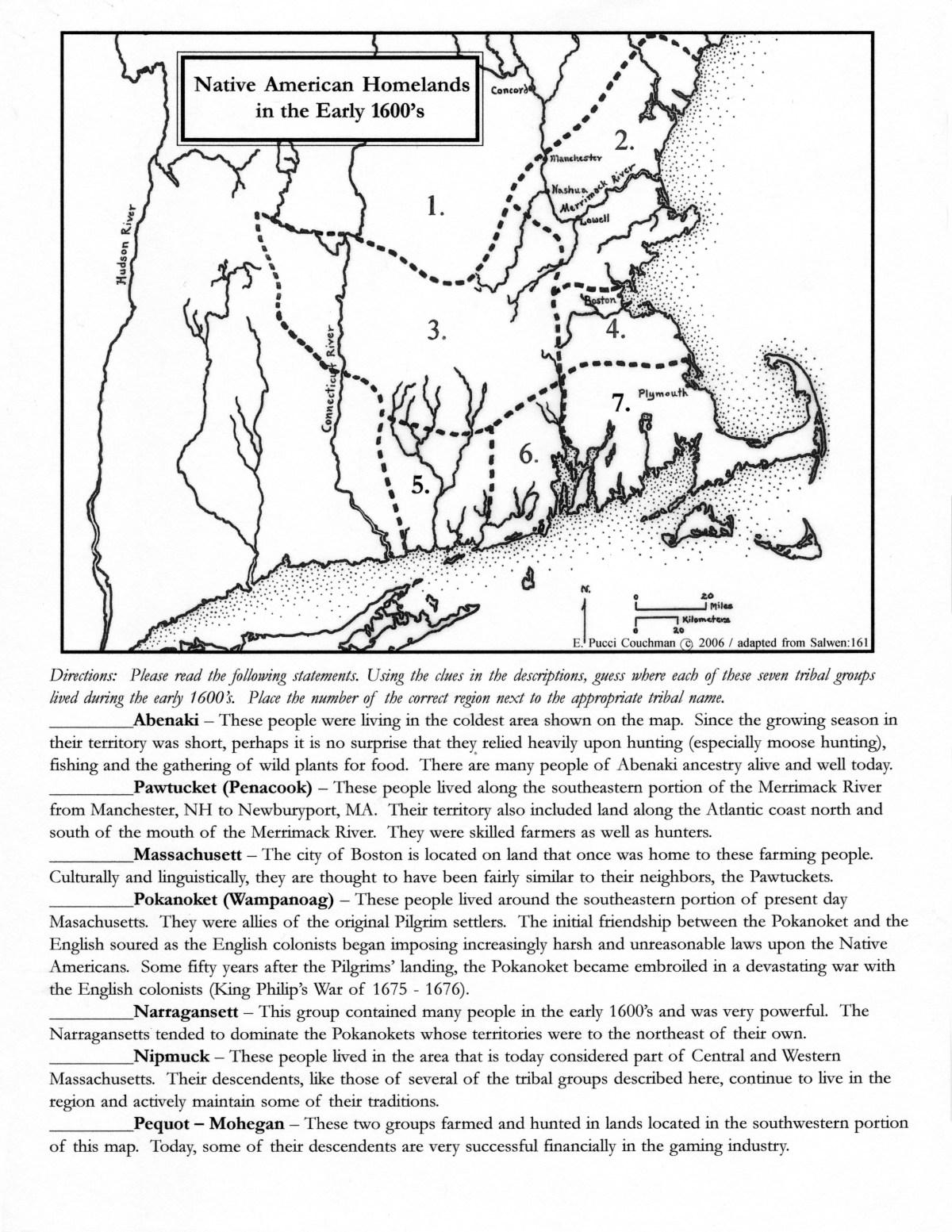 Native American Homelands EB
