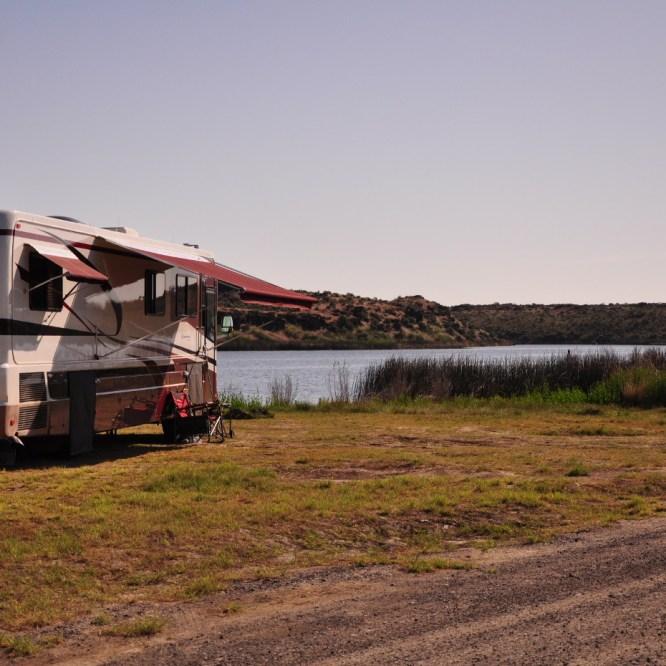 Central Washington Free Camping (Quincy Lake)