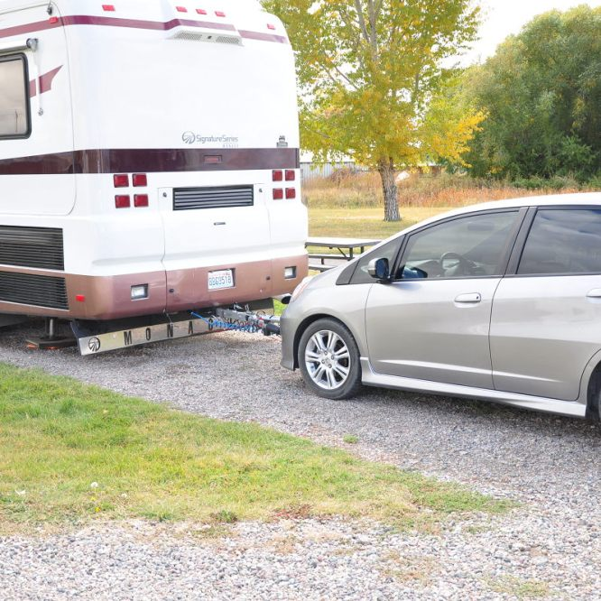 RV Tow Car Setup and DIY Install