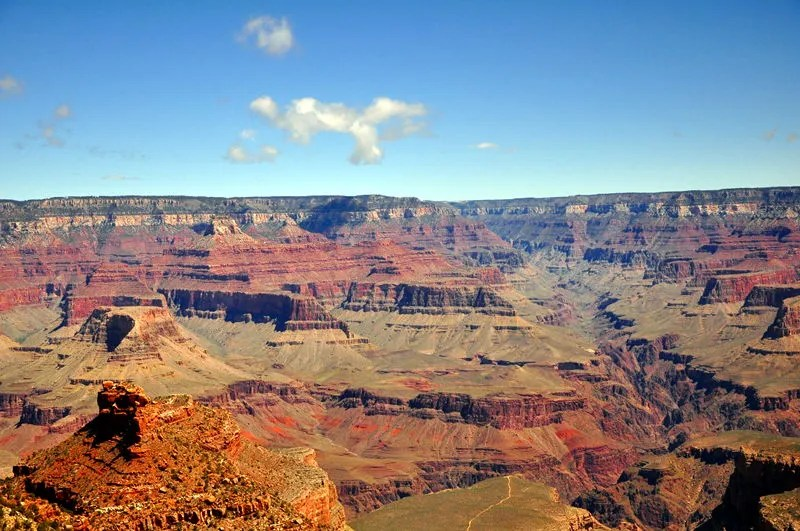 Grand Canyon during our visit while full time rving the country.