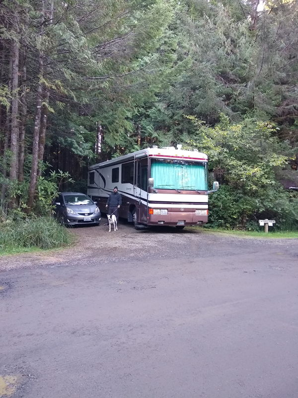 South Jetty RV resort in Florence, OR, a Thousand Trails park.