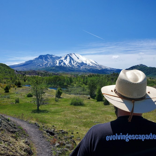 Mt St. Helens, Yearly RV Maintenance, And The Wheat Harvest
