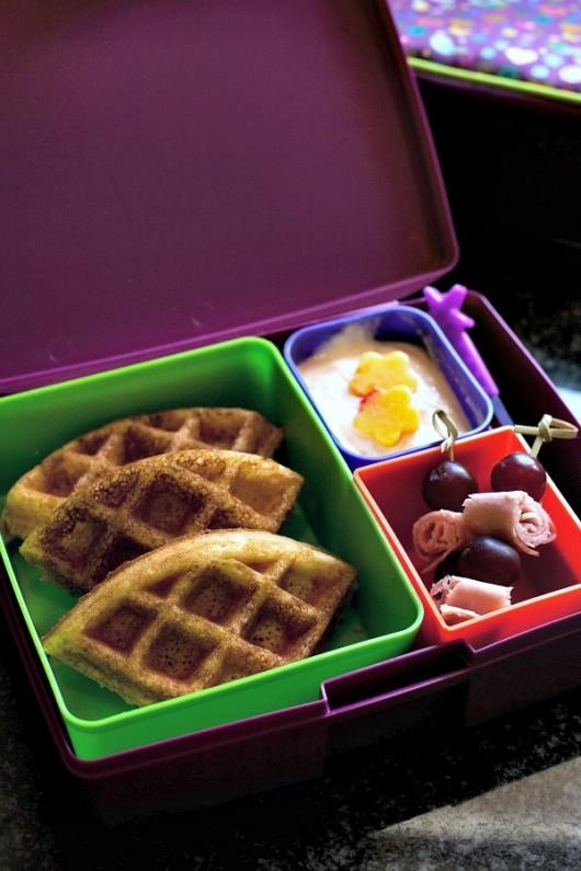 waffle dipping lunch 2  Evolving Motherhood