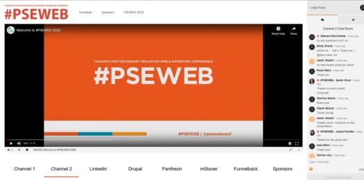 PSEWEB streaming platform