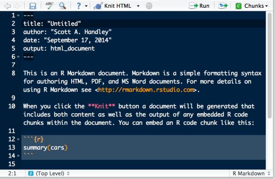 rmarkdown_framework