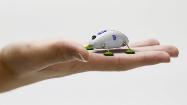 Rolls Royce is Developing Robotic Cockroaches