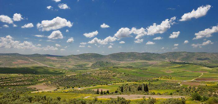 Плодородные долины, окружающие Шомрон