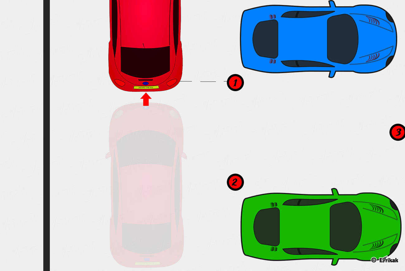 Картинка парковки задним ходом