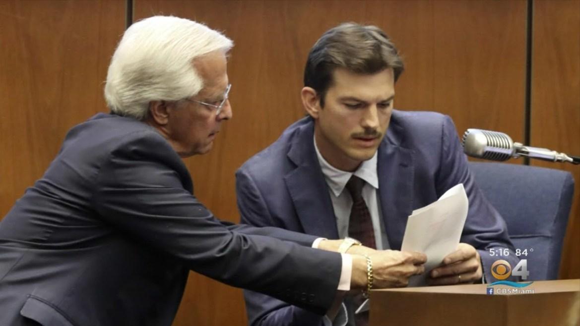 Ashton Kutcher isimli aktörün bir cinayet soruşturmasında şahit olarak ifade verdiği anlar...
