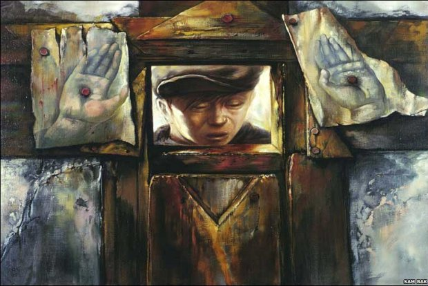 samuel bak 002 Холокост в еврейских картинах Самуила Бака (Samuel Bak)