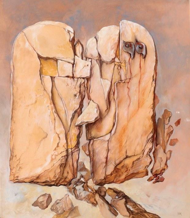 samuel bak 018 Холокост в еврейских картинах Самуила Бака (Samuel Bak)