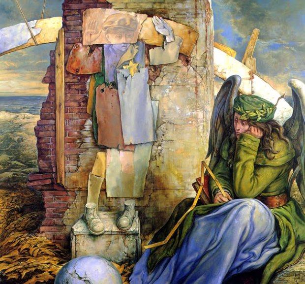 samuel bak 023 Холокост в еврейских картинах Самуила Бака (Samuel Bak)