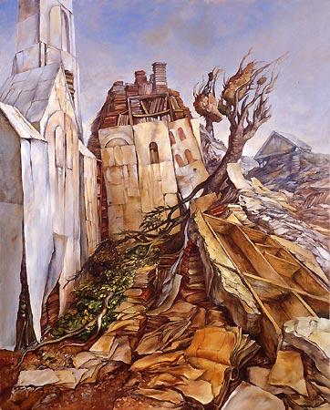 samuel bak 032 Холокост в еврейских картинах Самуила Бака (Samuel Bak)