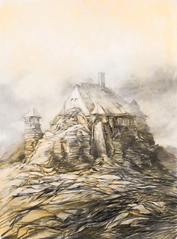 samuel bak 035 Холокост в еврейских картинах Самуила Бака (Samuel Bak)