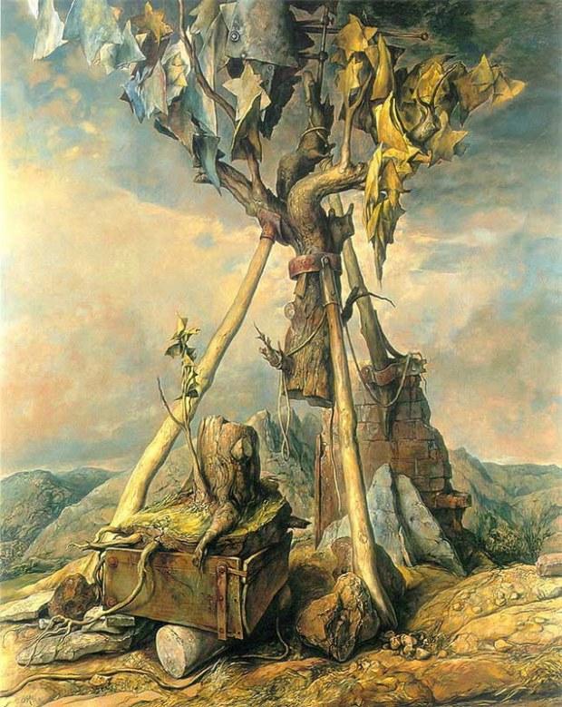 samuel bak 036 Холокост в еврейских картинах Самуила Бака (Samuel Bak)