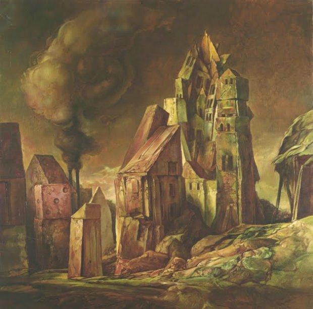 samuel bak 042 Холокост в еврейских картинах Самуила Бака (Samuel Bak)