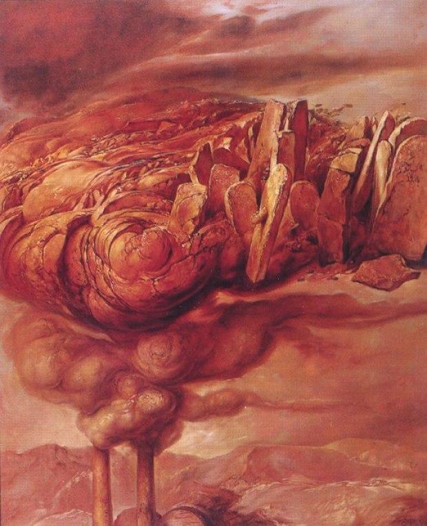 samuel bak 046 Холокост в еврейских картинах Самуила Бака (Samuel Bak)