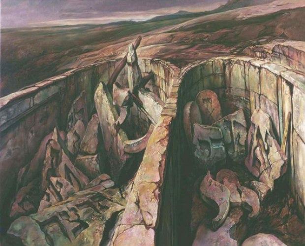 samuel bak 047 Холокост в еврейских картинах Самуила Бака (Samuel Bak)
