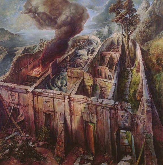 samuel bak 049 Холокост в еврейских картинах Самуила Бака (Samuel Bak)