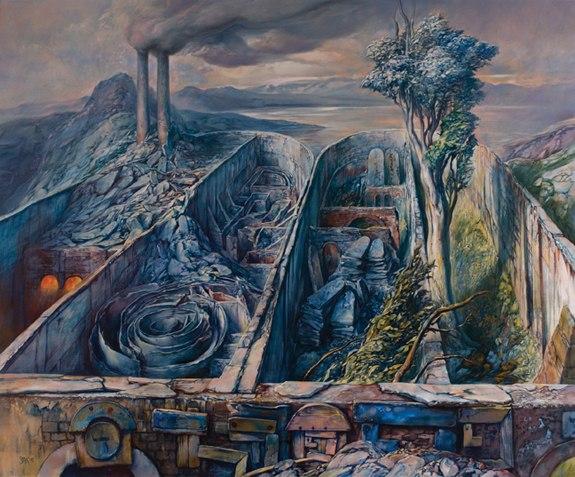 samuel bak 051 Холокост в еврейских картинах Самуила Бака (Samuel Bak)