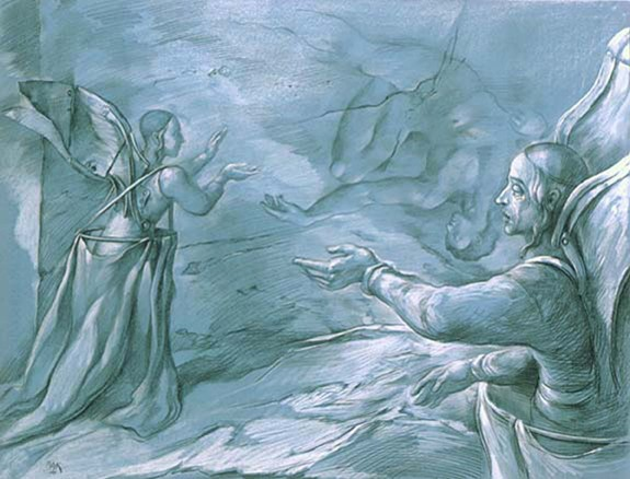 samuel bak 057 Холокост в еврейских картинах Самуила Бака (Samuel Bak)