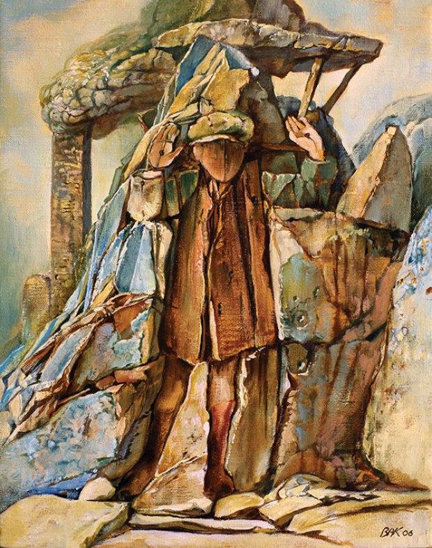 samuel bak 070 Холокост в еврейских картинах Самуила Бака (Samuel Bak)
