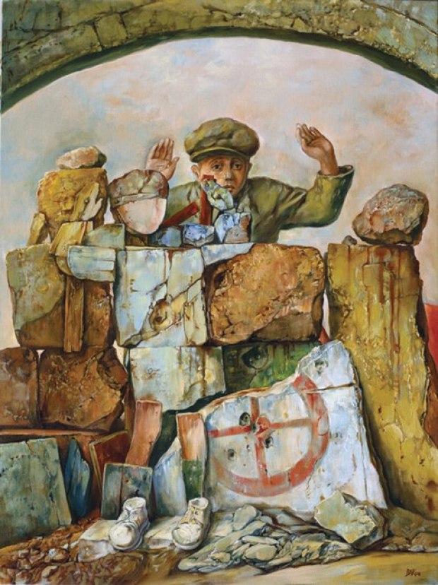 samuel bak 074 Холокост в еврейских картинах Самуила Бака (Samuel Bak)