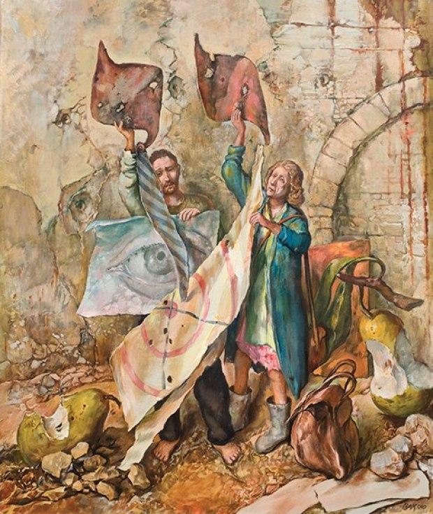 samuel bak 081 Холокост в еврейских картинах Самуила Бака (Samuel Bak)