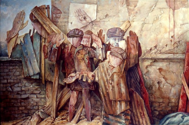samuel bak 083 Холокост в еврейских картинах Самуила Бака (Samuel Bak)