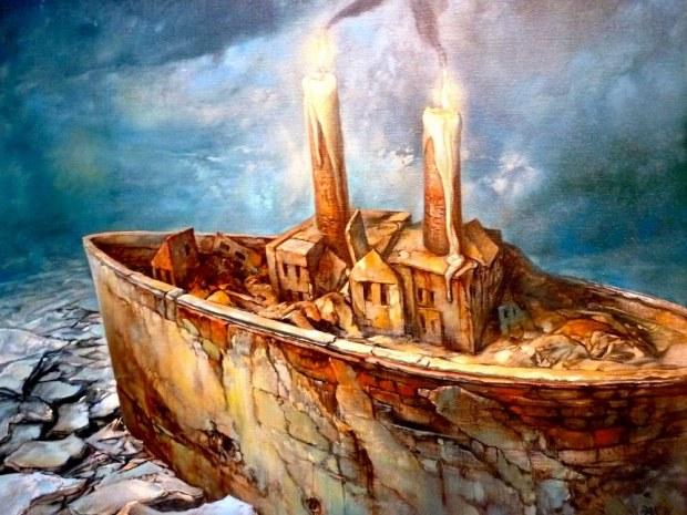 samuel bak 097 Холокост в еврейских картинах Самуила Бака (Samuel Bak)