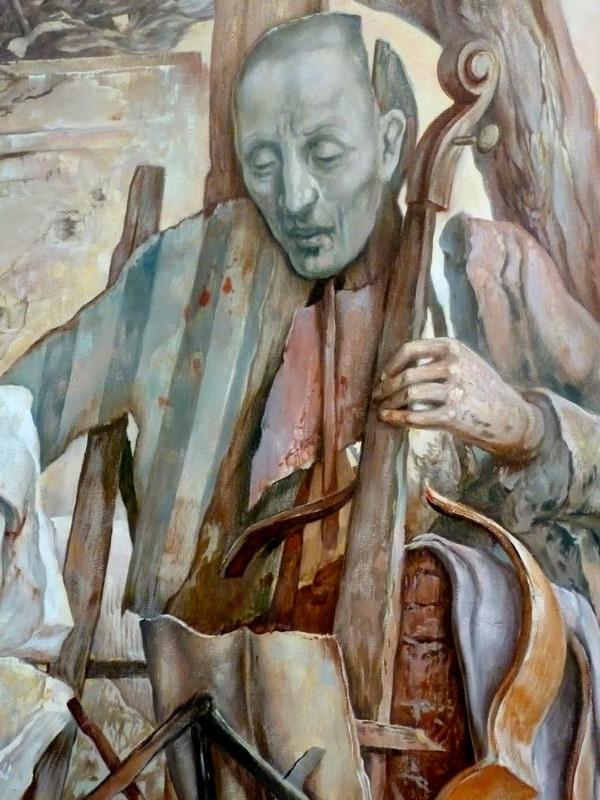 samuel bak 099 Холокост в еврейских картинах Самуила Бака (Samuel Bak)