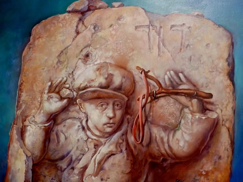 samuel bak 101 Холокост в еврейских картинах Самуила Бака (Samuel Bak)