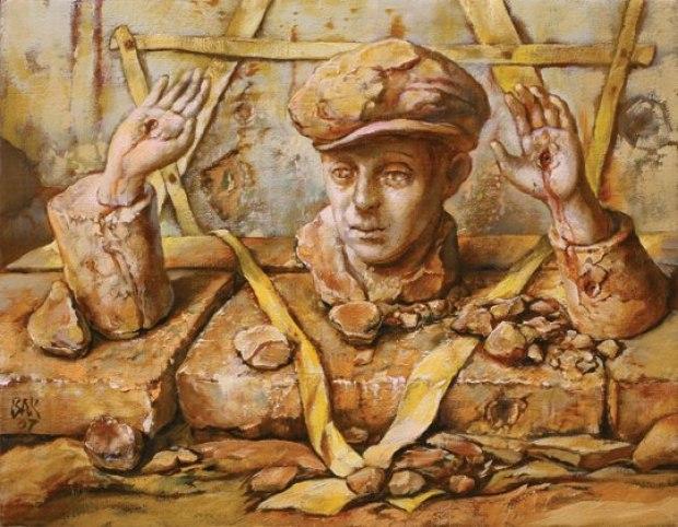 samuel bak 106 Холокост в еврейских картинах Самуила Бака (Samuel Bak)