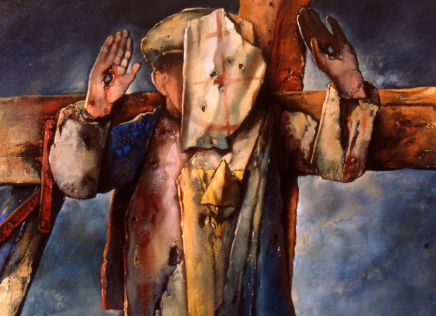 samuel bak 112 Холокост в еврейских картинах Самуила Бака (Samuel Bak)