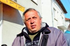 Марин Христов - член на Инициативния комитет на селото. Фото: Десислав Лафчиев / Евромегдан