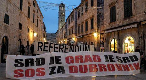 Правни действия срещу природозащитата в Дубровник